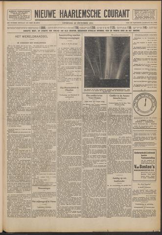 Nieuwe Haarlemsche Courant 1931-10-20