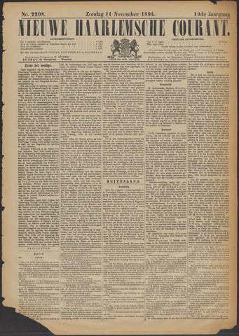 Nieuwe Haarlemsche Courant 1894-11-11