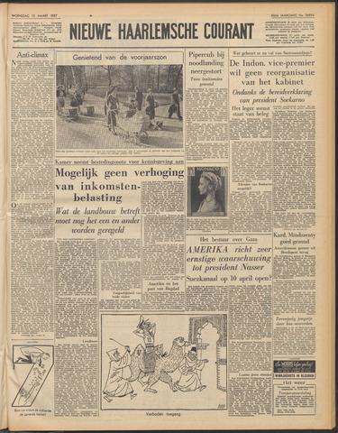 Nieuwe Haarlemsche Courant 1957-03-13