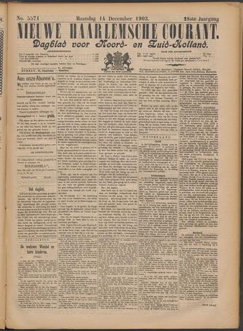 Nieuwe Haarlemsche Courant 1903-12-14