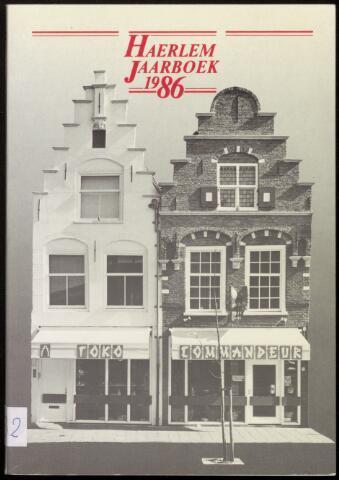 Jaarverslagen en Jaarboeken Vereniging Haerlem 1986