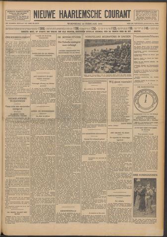Nieuwe Haarlemsche Courant 1932-02-24