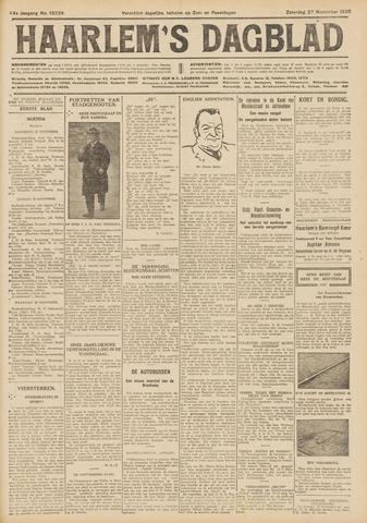 Haarlem's Dagblad 1926-11-27