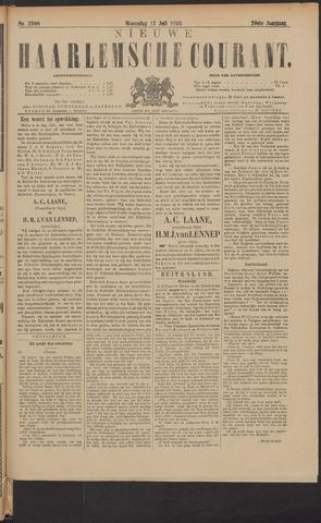 Nieuwe Haarlemsche Courant 1895-07-17