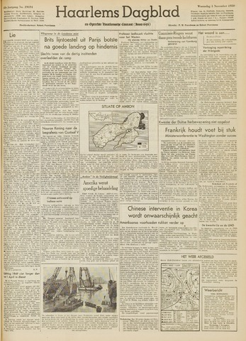 Haarlem's Dagblad 1950-11-01