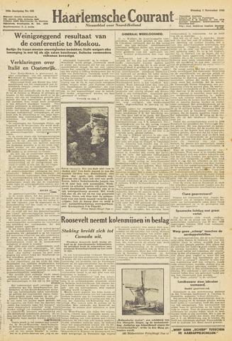 Haarlemsche Courant 1943-11-02