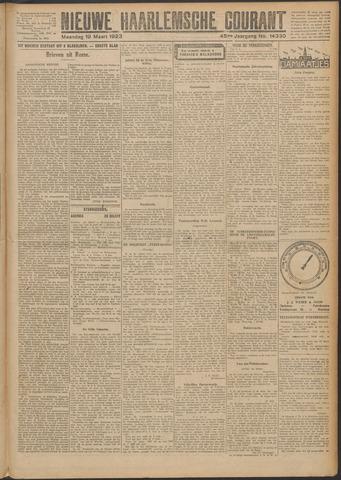 Nieuwe Haarlemsche Courant 1923-03-19