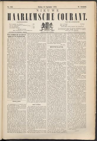 Nieuwe Haarlemsche Courant 1884-09-14