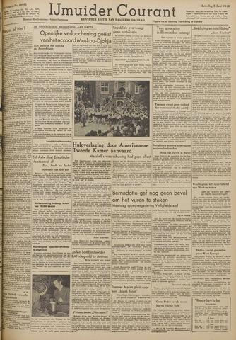 IJmuider Courant 1948-06-05