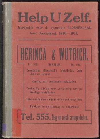 Adresboeken Bloemendaal 1910