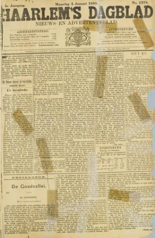 Haarlem's Dagblad 1888