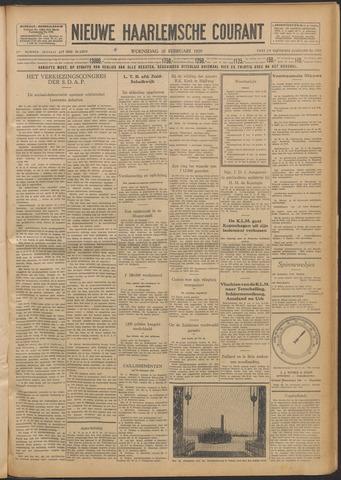 Nieuwe Haarlemsche Courant 1929-02-20