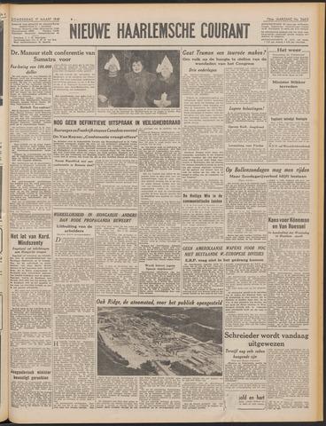 Nieuwe Haarlemsche Courant 1949-03-17