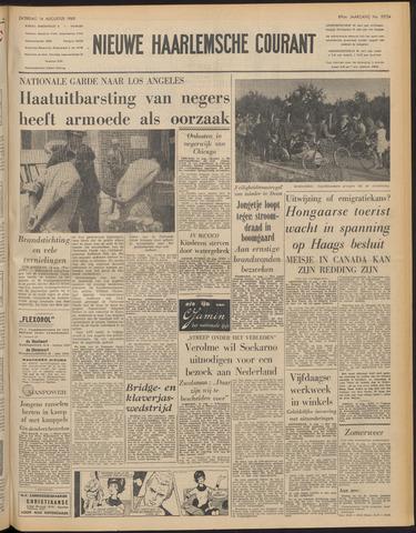 Nieuwe Haarlemsche Courant 1965-08-14