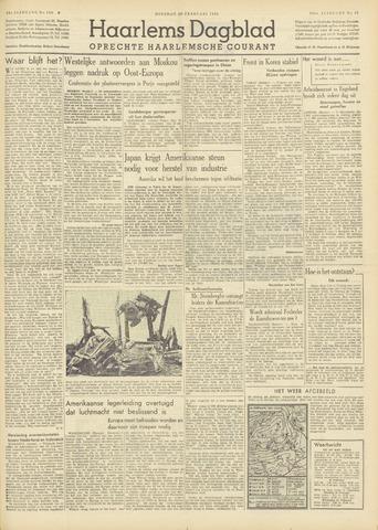 Haarlem's Dagblad 1951-02-20