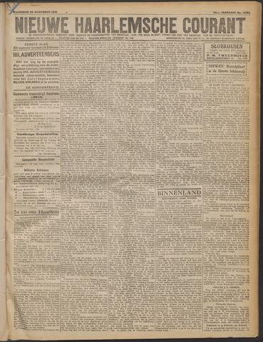 Nieuwe Haarlemsche Courant 1919-11-26