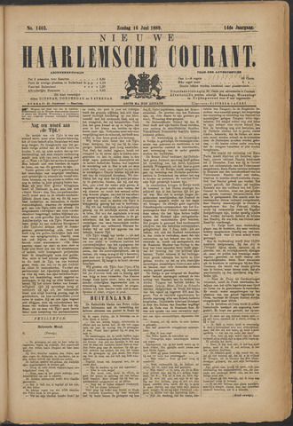 Nieuwe Haarlemsche Courant 1889-06-16