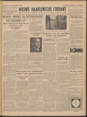 Nieuwe Haarlemsche Courant 1939-11-30