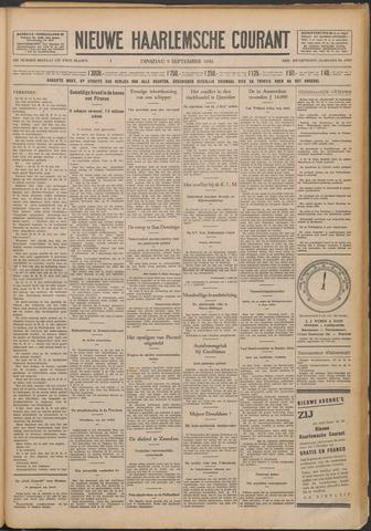 Nieuwe Haarlemsche Courant 1930-09-09