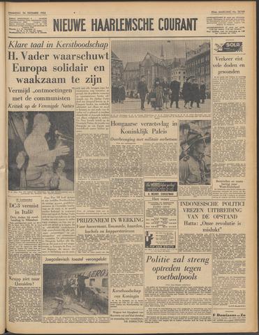 Nieuwe Haarlemsche Courant 1956-12-24