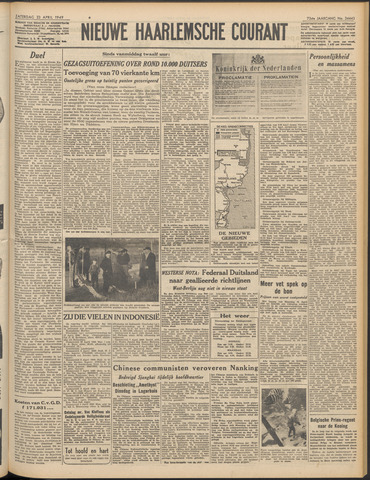 Nieuwe Haarlemsche Courant 1949-04-23