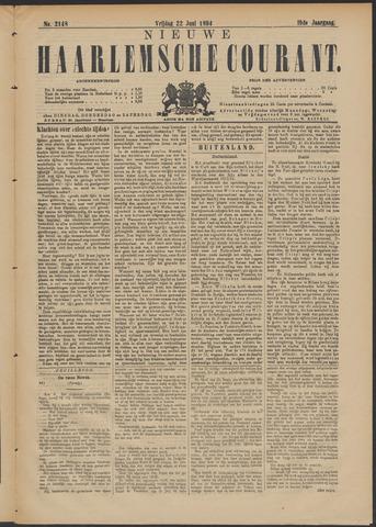 Nieuwe Haarlemsche Courant 1894-06-22