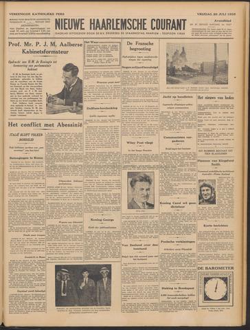 Nieuwe Haarlemsche Courant 1935-07-26