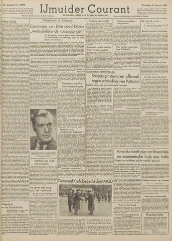 IJmuider Courant 1948-01-21