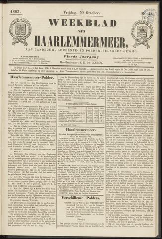 Weekblad van Haarlemmermeer 1863-10-30