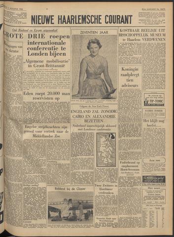 Nieuwe Haarlemsche Courant 1956-08-03