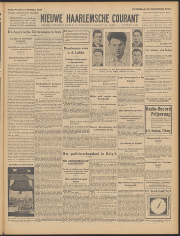 Nieuwe Haarlemsche Courant 1933-12-23