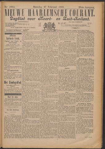 Nieuwe Haarlemsche Courant 1905-02-27