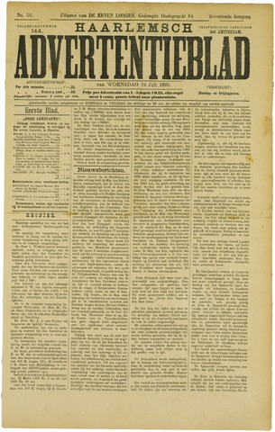 Haarlemsch Advertentieblad 1895-07-24