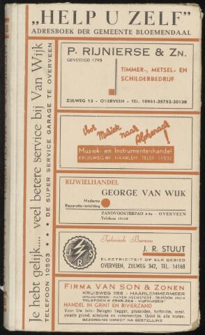 Adresboeken Bloemendaal 1948