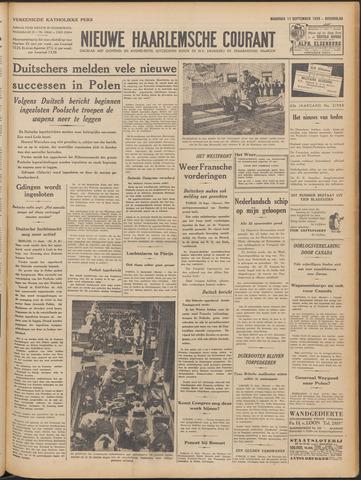 Nieuwe Haarlemsche Courant 1939-09-11
