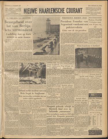 Nieuwe Haarlemsche Courant 1958-11-13