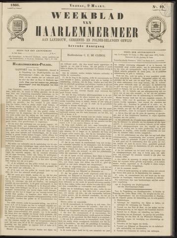 Weekblad van Haarlemmermeer 1866-03-09