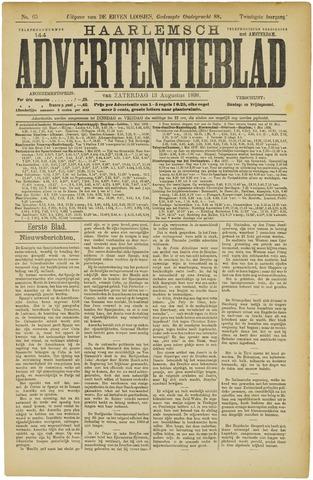 Haarlemsch Advertentieblad 1898-08-13