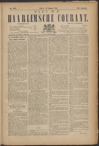 Nieuwe Haarlemsche Courant 1890-02-14