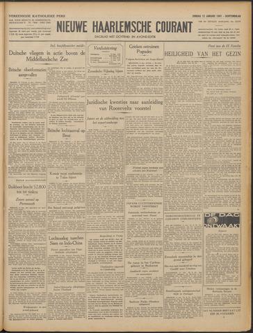 Nieuwe Haarlemsche Courant 1941-01-12
