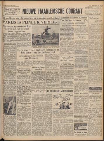 Nieuwe Haarlemsche Courant 1952-04-26