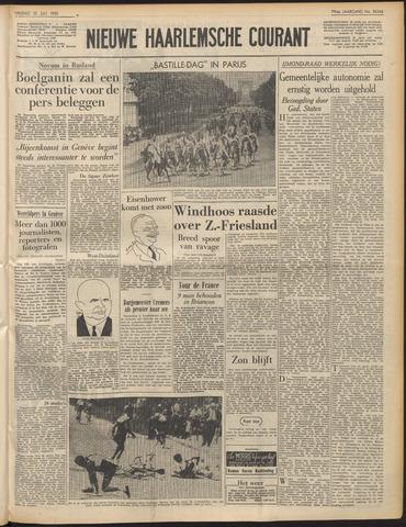 Nieuwe Haarlemsche Courant 1955-07-15