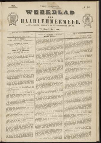 Weekblad van Haarlemmermeer 1874-09-04