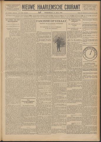 Nieuwe Haarlemsche Courant 1928-07-11