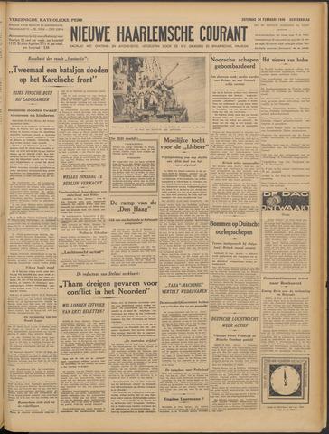 Nieuwe Haarlemsche Courant 1940-02-24