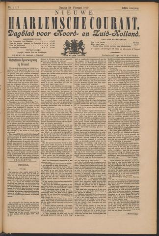 Nieuwe Haarlemsche Courant 1899-02-28
