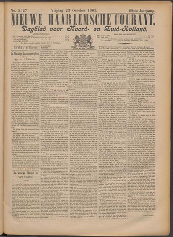 Nieuwe Haarlemsche Courant 1903-10-23