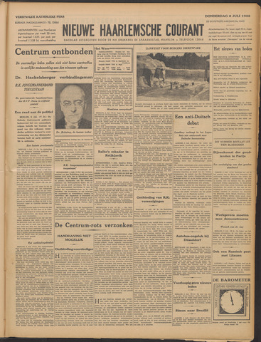 Nieuwe Haarlemsche Courant 1933-07-06