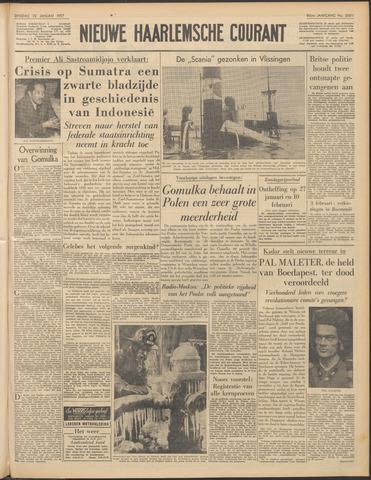 Nieuwe Haarlemsche Courant 1957-01-22