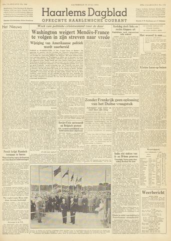 Haarlem's Dagblad 1954-07-10